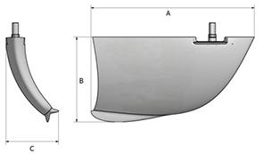 Fin size chart