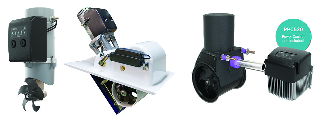 Which Bow Thruster Type is Best? Tunnel vs. External vs. Retractable vs. Water Jets