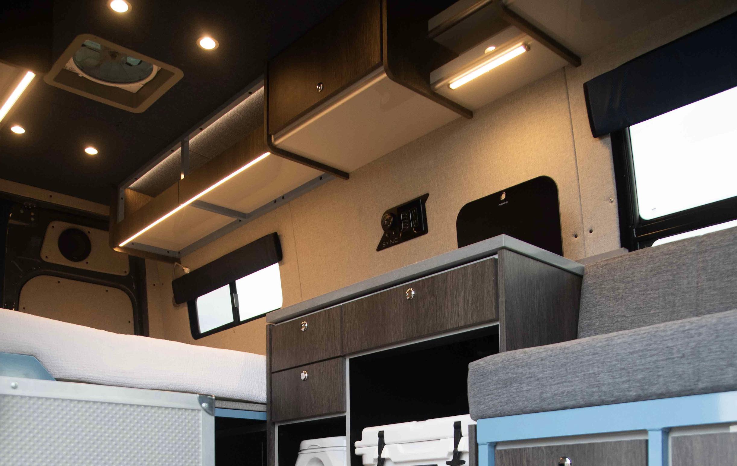 Benefits of Bi-Color Lighting for Your Van or RV